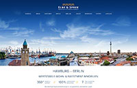 Webdesign Referenz: ElbeSpree